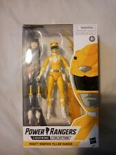 Power Rangers Lightning Collection Mighty Morphin Yellow Ranger (Hasbro)