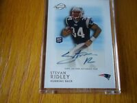 2011 topps legands rookie auto stevan ridley new england patriots