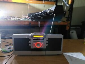 Sony ZS-D55 boombox, CD, radio, Tape, Aux,  (452)