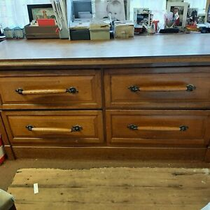 Antique / Vintage Haberdashery Drapers Drawers / Counter