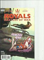 The Royals Masters of War Complete Mini series DC Vertigo Comics Rob Williams