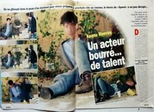 *KEANU REEVES => 2 pages 1997 FRENCH clipping / FREE SHIPPING!!!