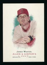 2007 Topps Allen and Ginter JERED WEAVER *Angels*