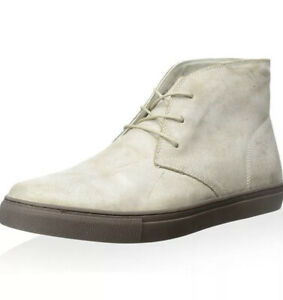 French Connection Men Falon Sand Suede Chukka Sneaker BootSizeUk10 Eu44Rrp£80