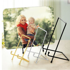 Iron Wire Plate Table Top Display Art Easel Display Table Stand-dish/plate/prize