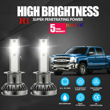 Mini H1 CREE LED Headlight Kit 2000W 280000LM High Beam Bulb Xenon 6000K White