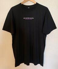 Apple Store Employee T shirt Mac OS X Leopard BLACK Size XXL