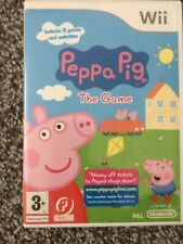 Nintendo Wii Peppa Pig The Game Complete Free Postage