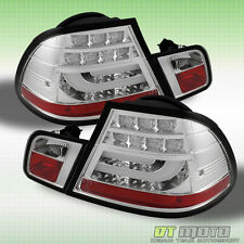 04-06 BMW E46 3-Series 2Dr Philips-LED Perform Chrome Tail Lights w/LED Signal