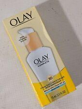 Olay Complete Moisturizer Sensitive Vitamin E SPF 30 2.5 Oz Exp.11/21 - NEW