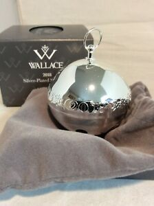 Wallace 2018 Silver Plated Sleigh Bell #11144