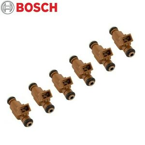 Mercedes-Benz ML500 S430 S500 CLK500 E500 SL500 CLK430 Set of 6 Fuel Injectors