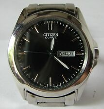 Citizen 1102 Day and Date Watch with Stainless Steel Bracelet