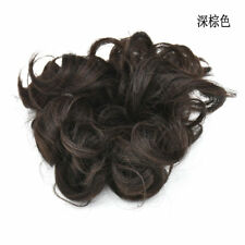Thick Curly Messy Bun Hair Extension One Piece Scrunchie Fake Hair Extensions