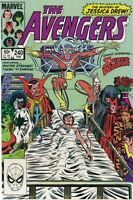 The Avengers 240 Marvel February 1984 Featuring Dr Strange Tigra The Shroud