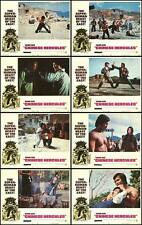 CHINESE HERCULES original 1974 lobby card set movie posters BOLO YEUNG/YANG SZE