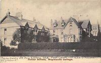 POSTCARD   DORSET    WEYMOUTH  College   Junior  School