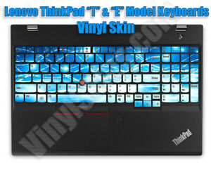 Choose Any Vinyl Skin / Decal Design for the Lenovo ThinkPad Laptop Keyboards