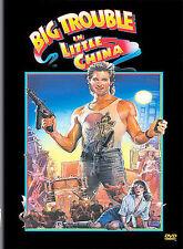 BIG TROUBLE IN LITTLE CHINA DVD KURT RUSSELL-KIM CATTRALL-DENNIS DUN-J.HONG W/S