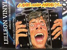 En Vivo Y Pesado Lp recopilatorio álbum Vinyl Record NEL6020 rock años 80