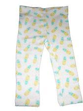 NEU Lupilu tolle Legging Gr. 62 / 68 weiß-gelb-grün mit Ananas Motiven !!