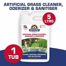 5 Litres ARTIFICIALGRASS ASTRO TURF FAKE GRASS CLEANER DEODORISER DISINFECTANT