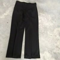 Ralph Lauren Black Wool Blend Womens Trouser Dress Pants (GA6) SZ Medium