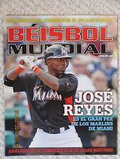 Beisbol Mundial Abril 2012 - Jose Reyes cover issue