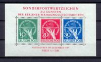 Berlin Block 1 III Währungsgeschädigte postfrisch FA Schlegel (kr338)