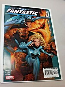 ULTIMATE FANTASTIC FOUR #21 2005 1st Appearance of MARVEL ZOMBIES Nice MCU