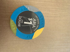 Jetons de casino de Las Vegas (Aria) 1$ x 6 chips
