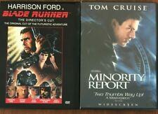 Blade Runner - The Directors Cut/Minority Report (Dvd, 1997)*Harrison Ford