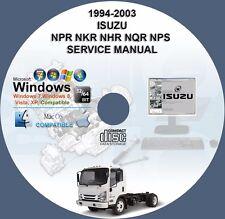 Isuzu NPR NKR NHR NQR NPS 1994 - 2003 Factory Workshop Service Repair Manual
