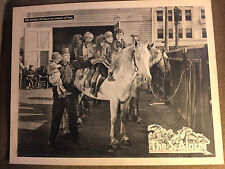The 3rd Alarm 1922 RKO silent lobby card Ralph Lewis Frankie Lee Firemen