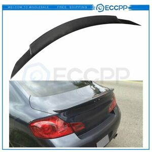 Spoiler Wing For 2008-2013 INFINITI G37 COUPE / 2014-2015 Q60