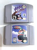 1080 SNOWBOARDING & Wave Race Nintendo 64 N64 2 Game Lot Tested WORKING!