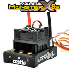 Castle Creations 010-0165-00 Mamba Monster X 8S 33.6V 1/6 Waterproof ESC
