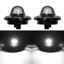 BRIGHT 9LED License Plate Light T10 For Ford F150 Raptor F-250 F350 F-450 F-550