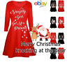 Babies girls mother and daughter xmas swing dress christmas santa dresses Swing