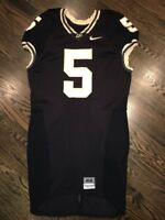 Game Worn Purdue Boilermakers Football Jersey Used Nike #5 Size 44 HIGGS