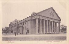 Alte AK -- KARLSRUHE -- Städtisches Kozerthaus -- postal. gelaufen 1916 --