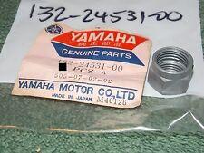 NOS OEM Yamaha Lock Nut 78-79 DT125 DT175 79 MX175 75-76 RS100 YL1 132-24531-00