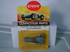 1/24 Cox #9277 slot car inline standard mag chassis extension Mib Nos Vintage 0