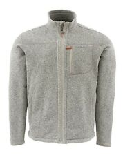 Simms RIVERSHED Sweater Full Zip ~ Cork NEW ~ Size XL ~ CLOSEOUT