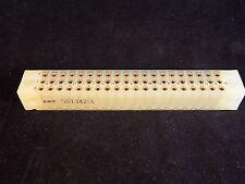 AMPHENOL TERMINAL BLOCK GOLD PLATED 60-Pin TAYP-AIR Tapered Pins 581342-3