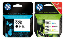 4x HP 920 DRUCKER PATRONEN ORIGINAL OFFICEJET 6000 6500-A 7000 7500 (3 XL +1)