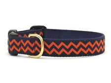 Up Country - Dog Puppy Design Collar -  Made In USA - Chevron - XS S M L XL XXL