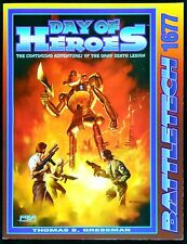 Battletech Game Day of Heroes Campaign Pack FASA 1677 Excellent Grey Death