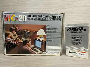 Vintage Commodore VIC-20 Personal Computer Video Game System & Programming Books