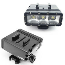 GoPro Camera Waterproof LED Diving Light Lamp Torch Buckle Mount 2x Batterie